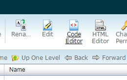 选择code editor